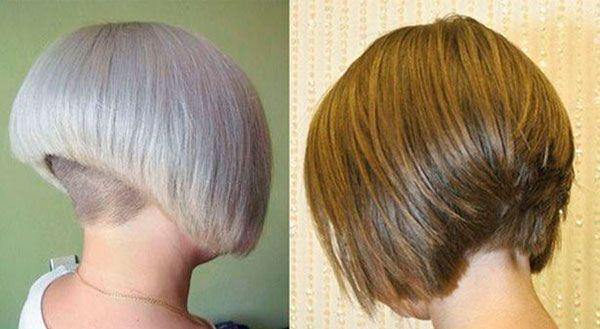 Стрижка боб каре на короткие, средние и длинные волосы | LadyWow - Боб вид сзади