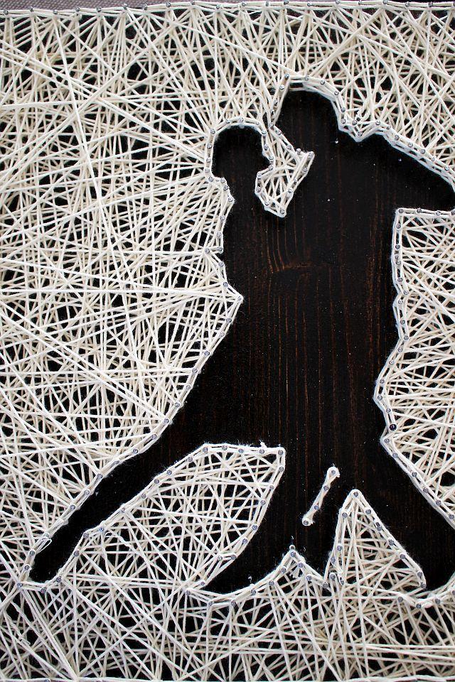 Tango - string art by Chic Deco Shop