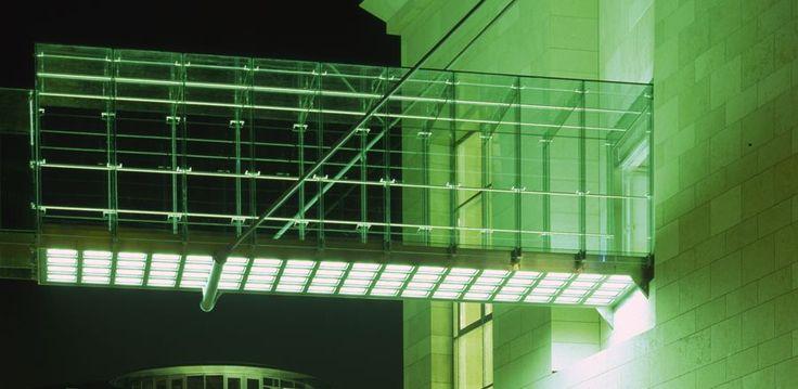 Sporthaus Karstadt Glass Bridge Glass Bridge Footbridge Glass