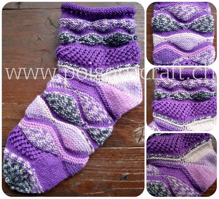 Twist Socken Anleitung