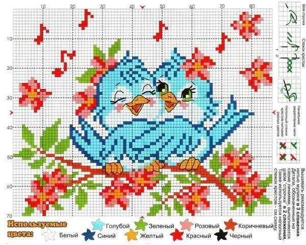 Points de croix *♥* Cross stitch
