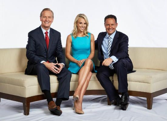 """Former """"The View"""" star Elisabeth Hasselbeck, who launched into her new job at Fox News' morning show, """"Fox & Friends,"""" on Monday, Sept. 16, got to know her new co-hosts amid the wildlife and wild life of the hit A&E reality show """"Duck Dynasty."""""""