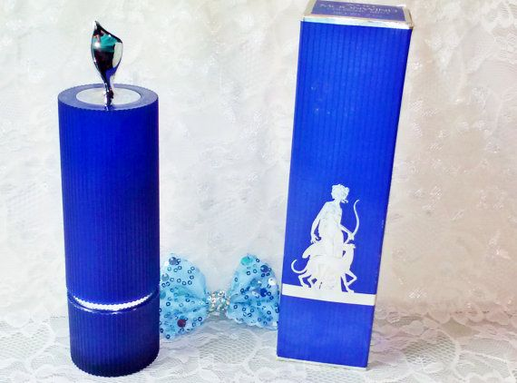 Vintage Avon Moonwind Cologne Mist Large 3 Oz Blue Bottle True Original Genuine Formula Fragrance Perfume Women from Estate. Here is a wonderful Discontinued Genuine Original Formula fragrance from the 1960s-70s! Avon Moonwind in a Large 3 Oz Blue Ribbed Bottle