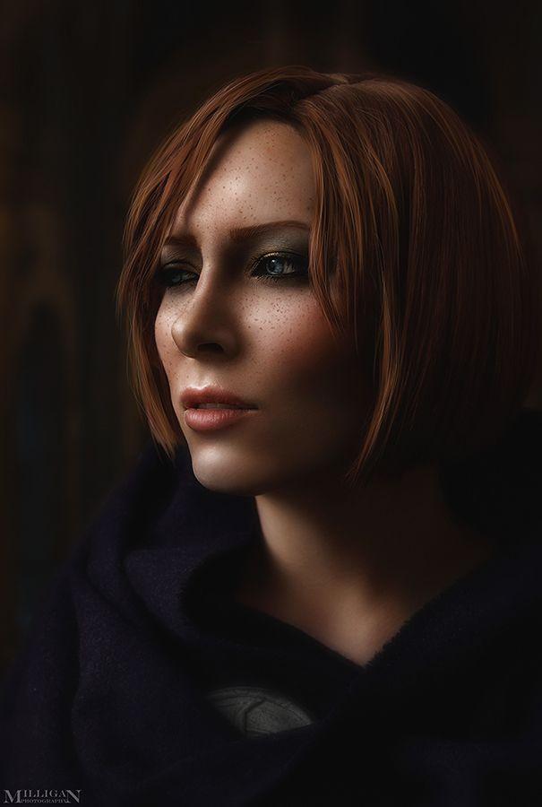 DA:I - Leliana - Make-up Test by MilliganVick on DeviantArt