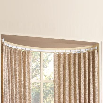 17 best ideas about bow window curtains on pinterest bow window curtain rods gallery double bow window
