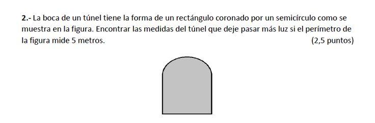 Ejercicio 2B Junio 2014-2015. Propuesto en examen pau de Canarias. Matemática. Optimización.