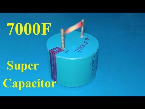 How To Make 7000f Ultra Capacitor Diy Homemade Super Capacitor From Aluminum Foil Youtube Capacitors Electronics Projects Nordstrom Kids