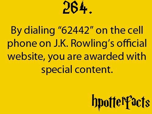 Harry potter facts. Someday I will actually try this.                                                                                                                                                      More