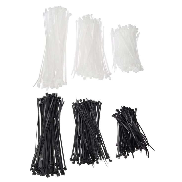 250pcs Nylon Cable Ties Set Self-lock Plastic Wire Zip Tie  Description: Color:White Black Actual width: 1.8 2.8 3.6 5.2 (non-standard width) 9.0 Quantity: 250pcs (please allow 1% error) Commodity material: UL approved nylon 66 made of material quality certification ROHS certification. Fire rating 94V-2 acid corrosion resistance good insulation not aging strong endurance. Size Quantity 3100 100 3150 100 4200 50 Features 1. This product is acid corrosion resistance good insulation not aging…