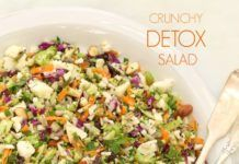Crunchy Detox Salad Loaded With Nutrients