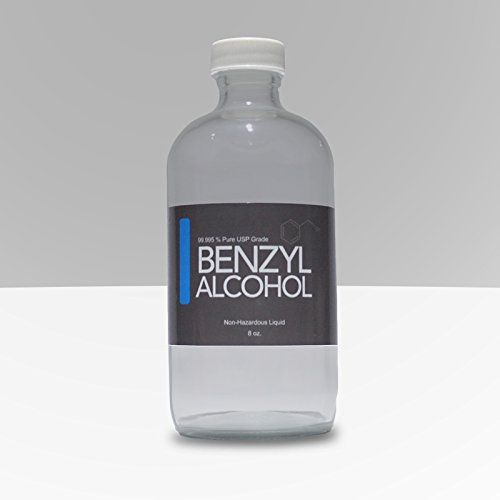 #manythings Pure USP Grade #Benzyl Alcohol in a glass bottle