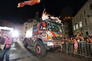 Dakar 2014 – Hino Finishes 23rd Consecutive Dakar Rally and Wins Its Class
