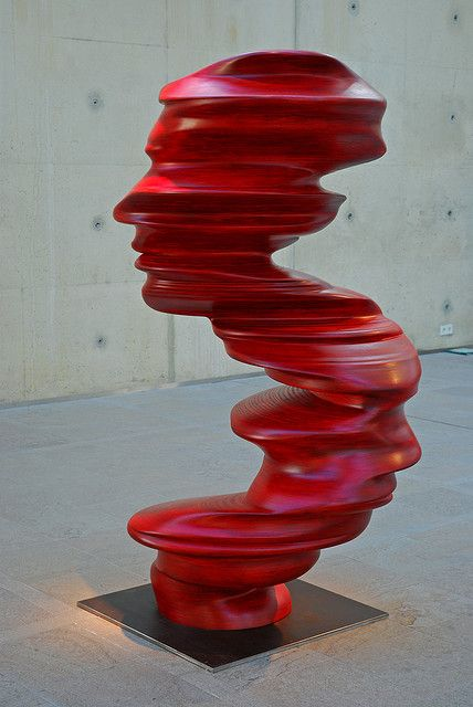 'Blushing profiles'  Tony Cragg (b1949)  is a British visual artist who works mainly as a sculptor. He was the director of the Kunstakademie Düsseldorf until August 2013.