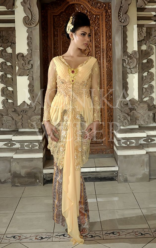 Yellow Pastel Kebaya