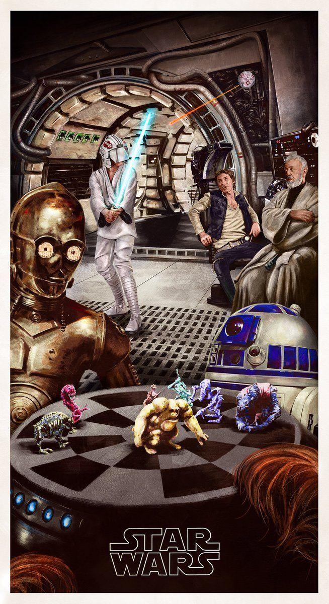 Luke Skywalker's first Jedi training with Obi-Wan Kenobi on the Millennium Falcon | Star Wars: A New Hope
