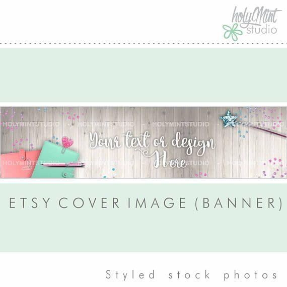 Etsy Banner Etsy by www.HolyMintStudio.Etsy.com
