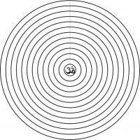 Mandala Concéntrico 12