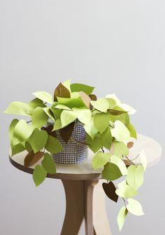 DIY plante en papier
