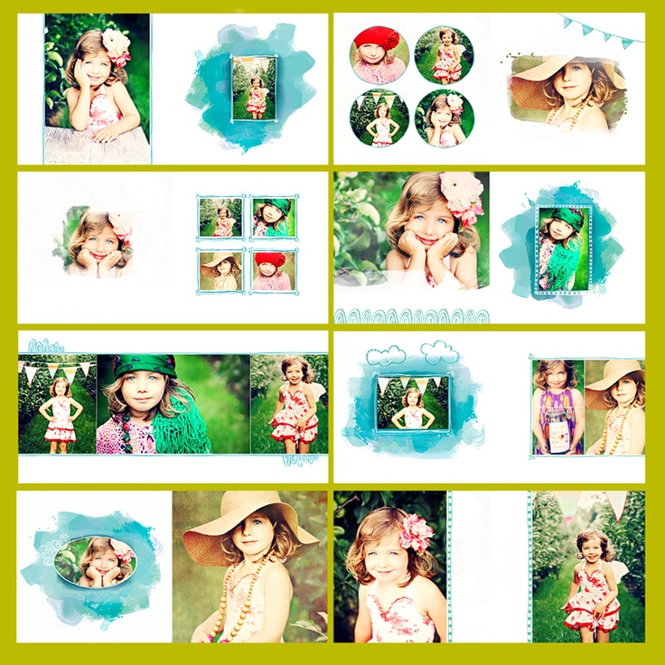 Totally perfect album for a kiddo photo session!