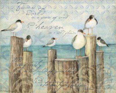 Susan Winget #Illustration #Scrapbook #vintage #art journal #decoupage #birds