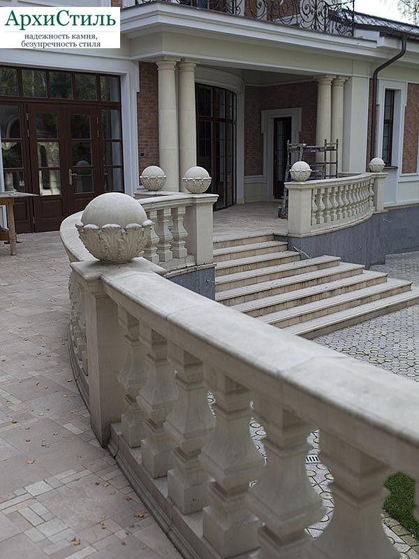 Отделка фасада камнем, пример работы №69