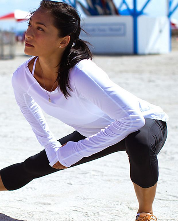 Lululemon Athletica Run: In The Sun Long Sleeve. Love their stuff just wish it wasn't so exspensive
