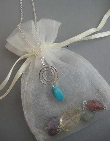 Vortex Interchangeable Chakra Jewelry