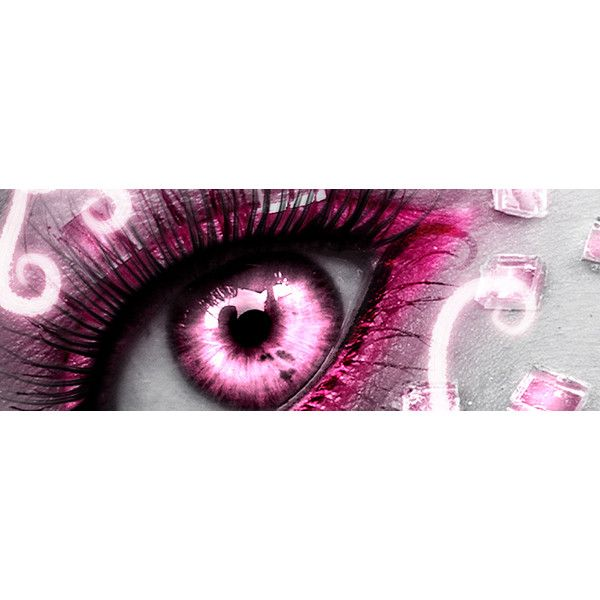 Pink Eye Facebook Cover ❤ liked on Polyvore featuring backgrounds, eyes, makeup and pink