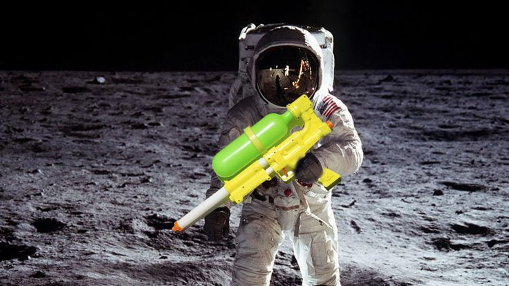Martian Lawsuits And Super Soakers: The Weirdest Moments In NASA History