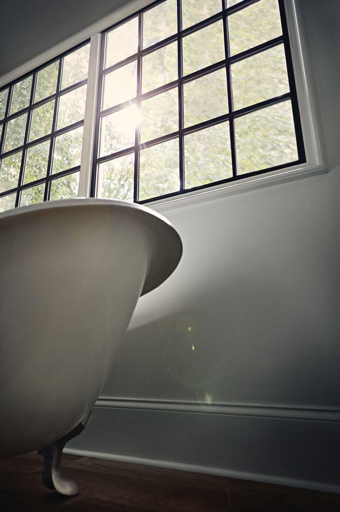 Wood window black interior finish sparks hot trend