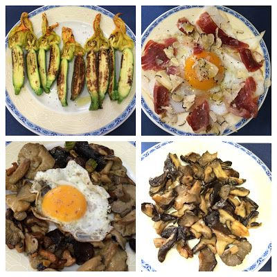 Living in Sin: Madrid - El Cisne Azul for amazing mushrooms & other dishes!