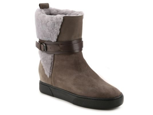 Women's Blondo Nori Wedge Bootie - Grey