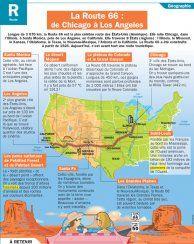 La Route 66 : de Chicago à Los Angeles - Mon Quotidien, le seul site d'information quotidienne pour les 10 - 14 ans !