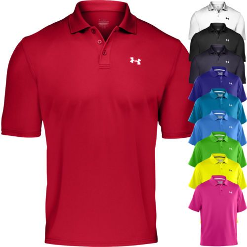 Performance Polo Shirts For Men