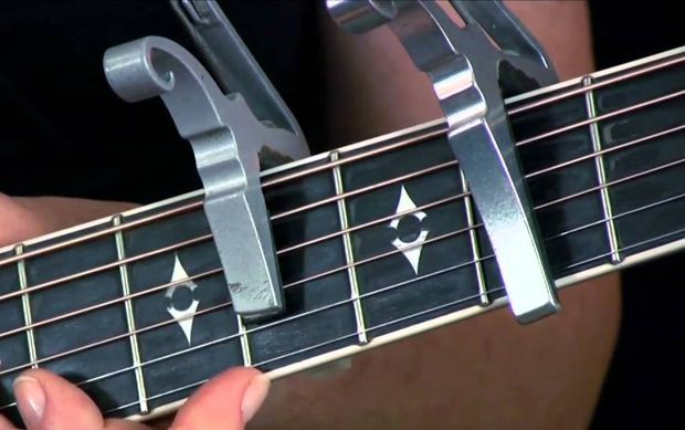 Beyond the obvious capo advantages of changing a song key to match vocal range, the capo can be handy tool for other purposes as well. There's no reason not to keep one (or two) in your guitar case or clipped to your headstock for the moment that a need arises. Here are some uses of this handy device. The key is key When you use standard tuning, there are a number of keys that are easy for guitarists to perform in. Common guitar keys include E, A, C, D or G - probably because many songs are…