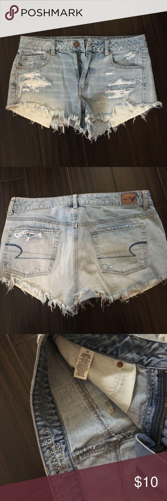 American Eagle festival cut off shorts American Eagle Festival Style Jean shorts. Size 10. American Eagle Outfitters Shorts Jean Shorts