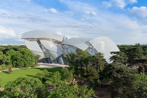 Viaggi di Architettura - Parigi | Fondazione Louis Vuitton di Frank Gehry