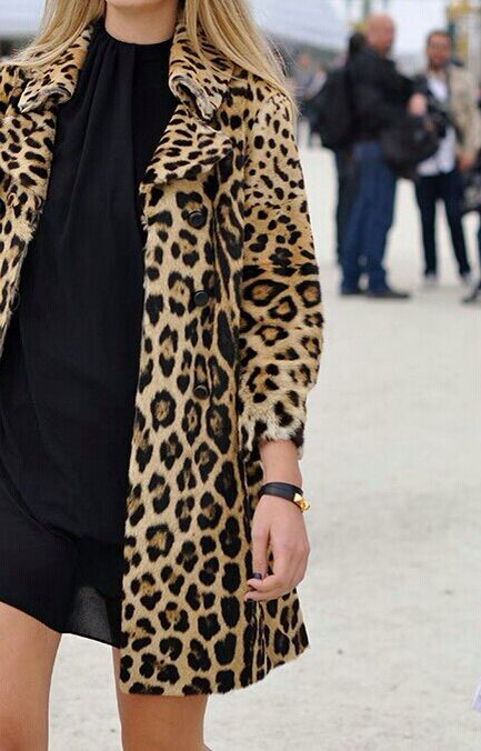 { black and leopard }