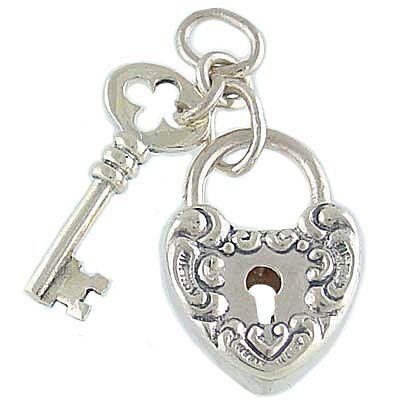 heart lock and key idea