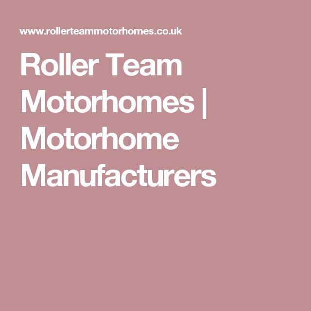 Roller Team Motorhomes | Motorhome Manufacturers