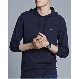 Hooded Jersey T-shirt, Navy