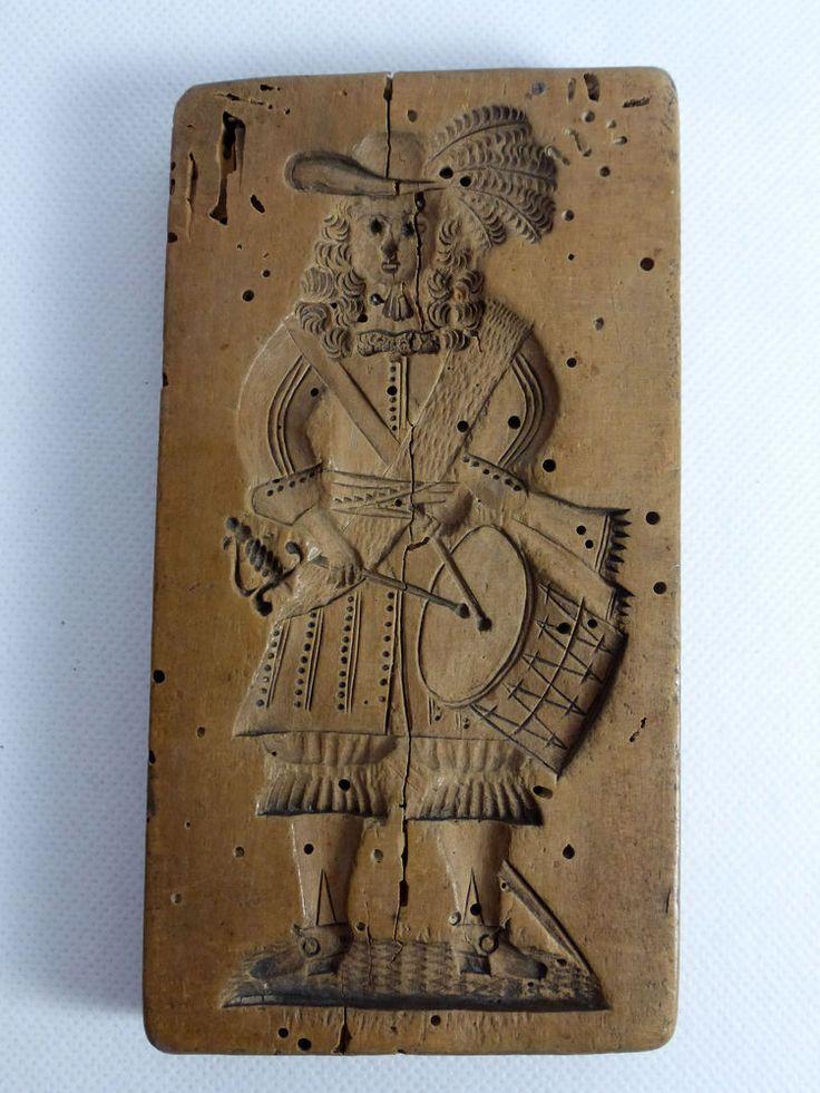 Holzmodel Backmodel Springerle Model 18. Jahrhundert -fein geschnitzt-  | eBay