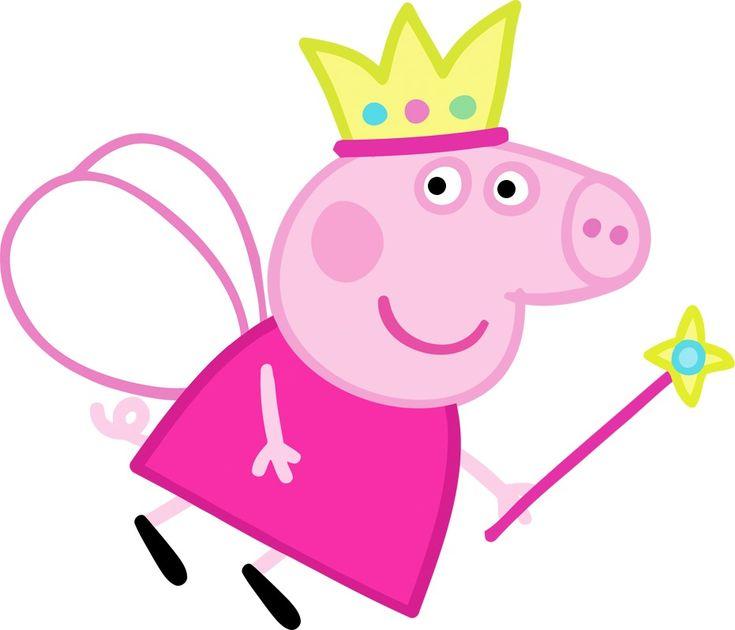 Peppa Pig Princess Cake Topper