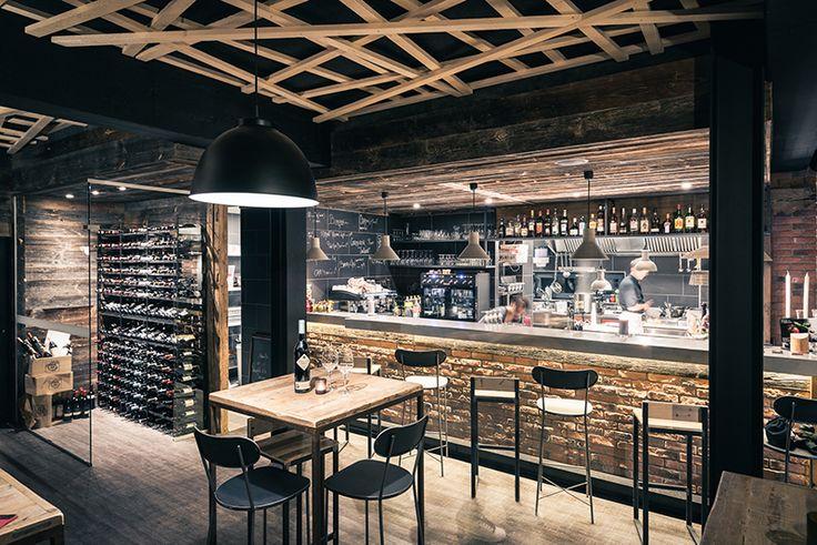 Oltre 25 fantastiche idee su ristorante industriale su for Bar stile industriale