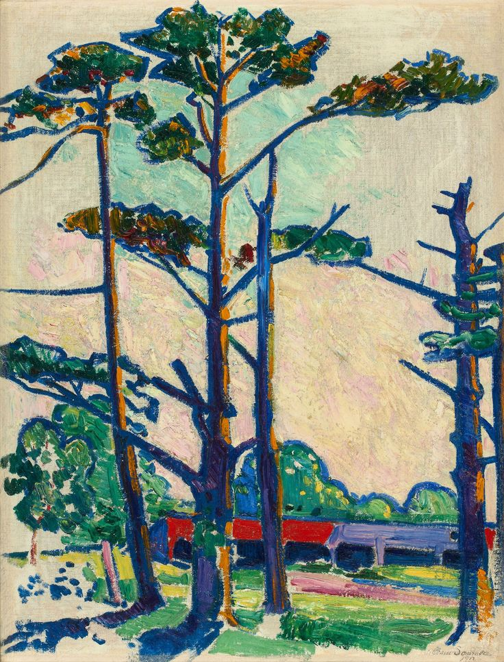 WILLIAM SOMMER Fauve Landscape (1912)