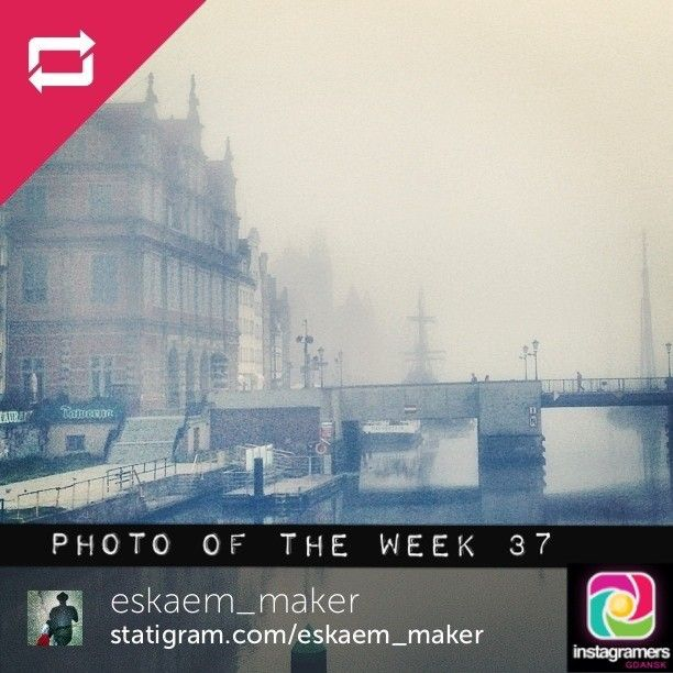 IgersGdansk Photo of the Week 37. Congratulations @eskaem_maker. Igers keep tagging your photos #igersgdansk for your chance to be IgersGdan...