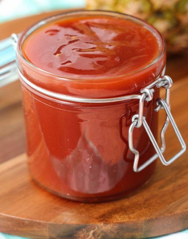 Cette sauce est absolument PARFAITE pour accompagner vos brochettes de poulet sur le BBQ ou autres grillades...