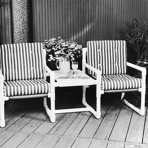 Pvc Pipe Patio Furniture Plans: Woodworking Project Paper Plan To Build PVC Twin
