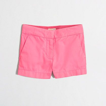 J.Crew Factory  Factory girls' chino short