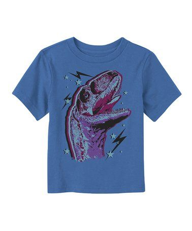 Look what I found on #zulily! Royal Dino Stars Tee - Toddler & Boys #zulilyfinds